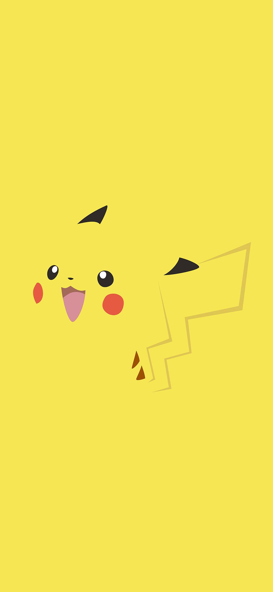 iPhoneXpapers.com-Apple-iPhone-wallpaper-ab71-wallpaper-pikachu-yellow-anime