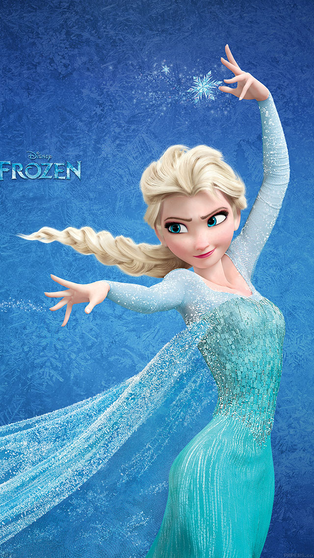 freeios8.com-iphone-4-5-6-ipad-ios8-ab73-wallpaper-frozen-elsa-disney-illust
