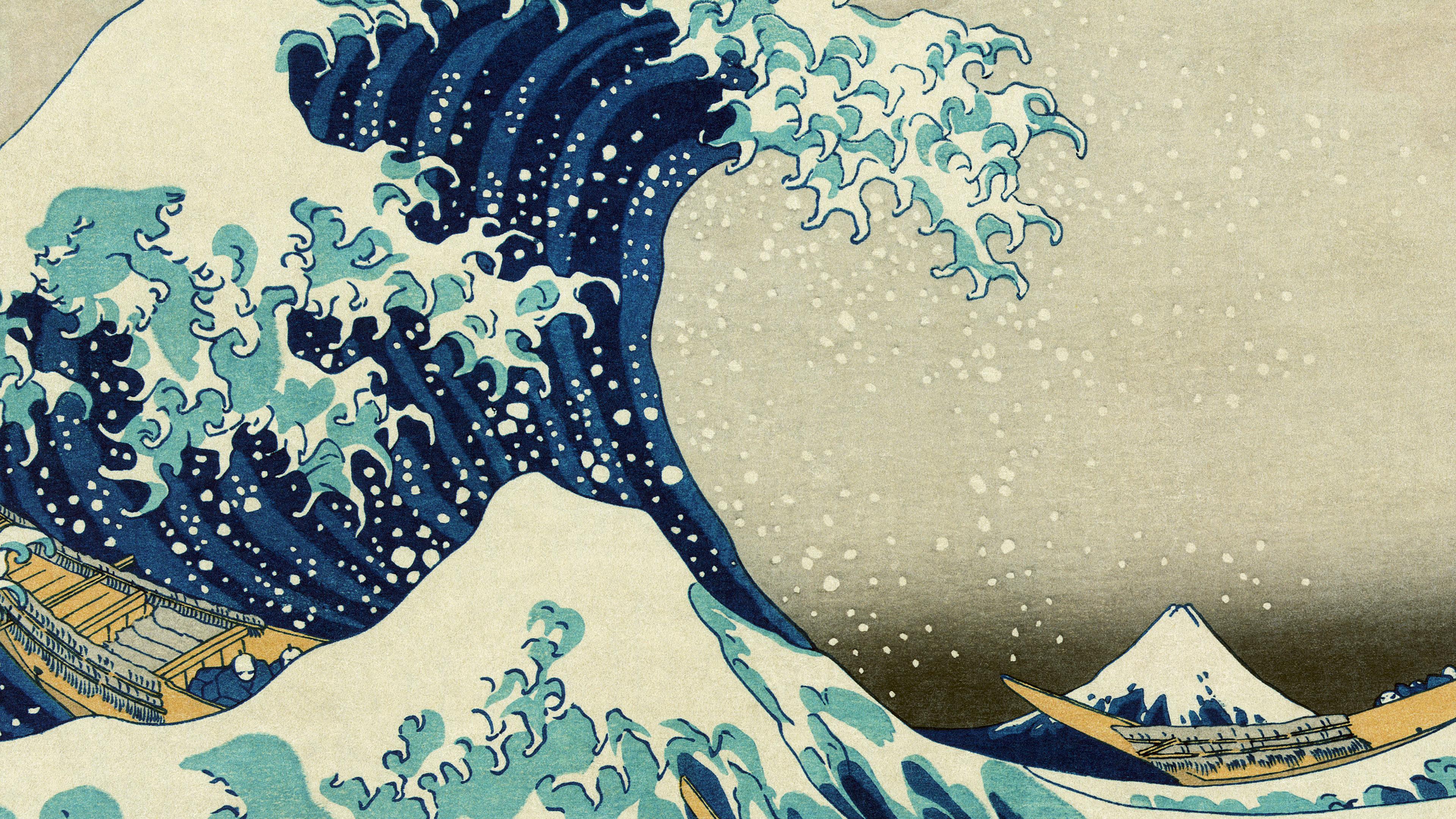 Ab75 Wallpaper Great Wave Off Kanagawa Wallpaper