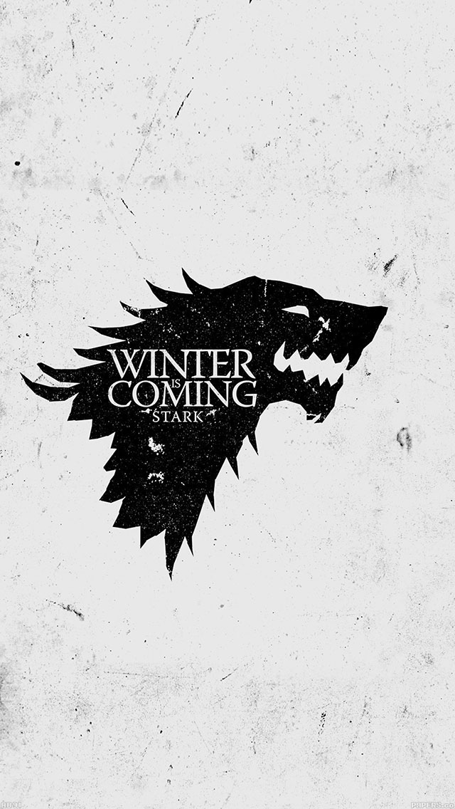 freeios8.com-iphone-4-5-6-ipad-ios8-ab91-wallpaper-game-of-thrones-winter-is-coming-white