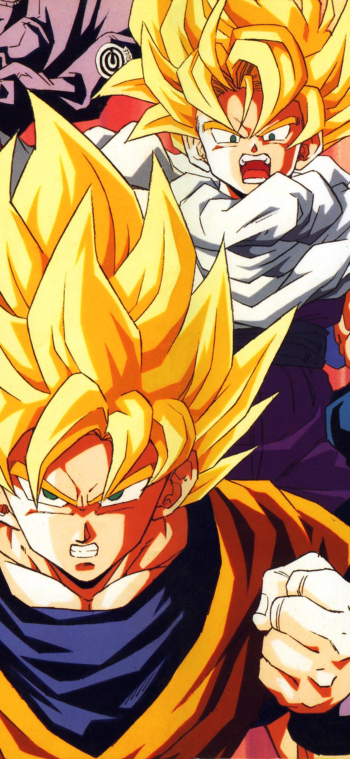 Ab92 Wallpaper Dragonball Z Goku Fire Anime