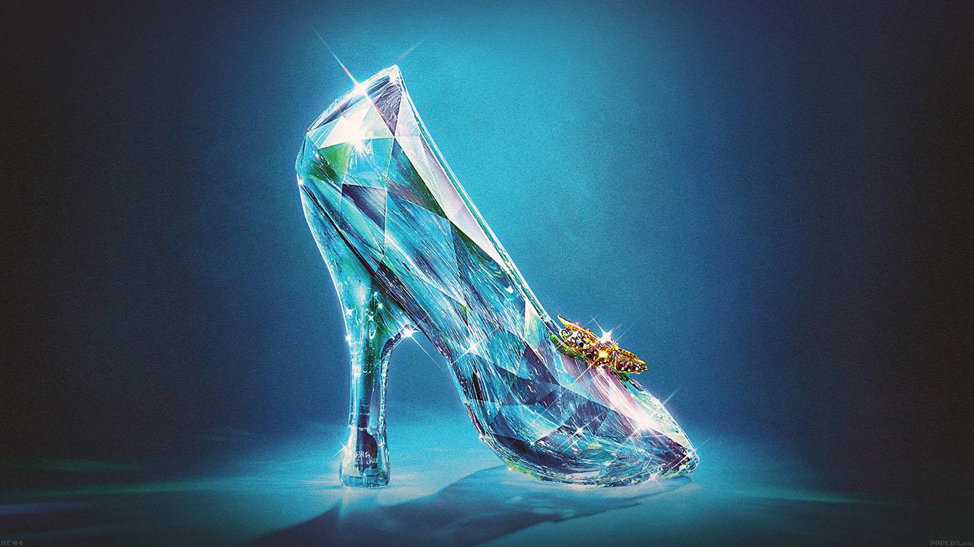 Cinderella Glass Slipper Hd Wallpaper Desktop