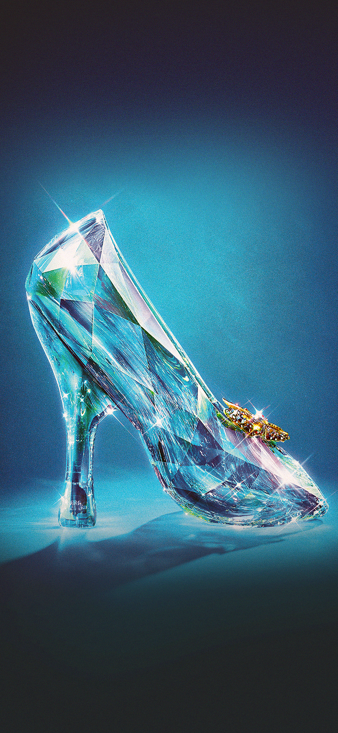 iPhoneXpapers.com-Apple-iPhone-wallpaper-ac04-wallpaper-cinderella-glass-slipper-shoes-illust