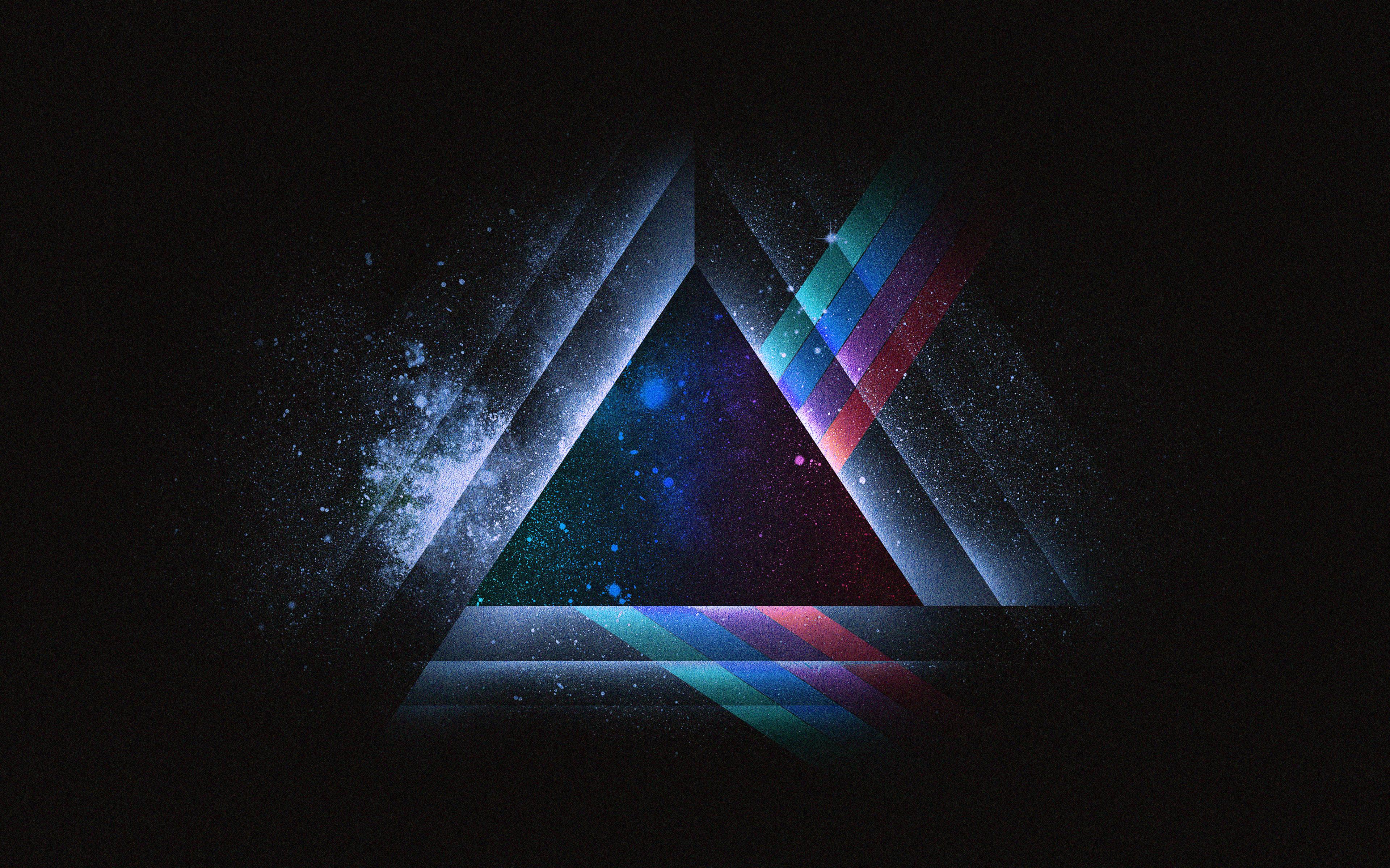 ac08-wallpaper-triangle-art-blue-rainbow-illust-graphic