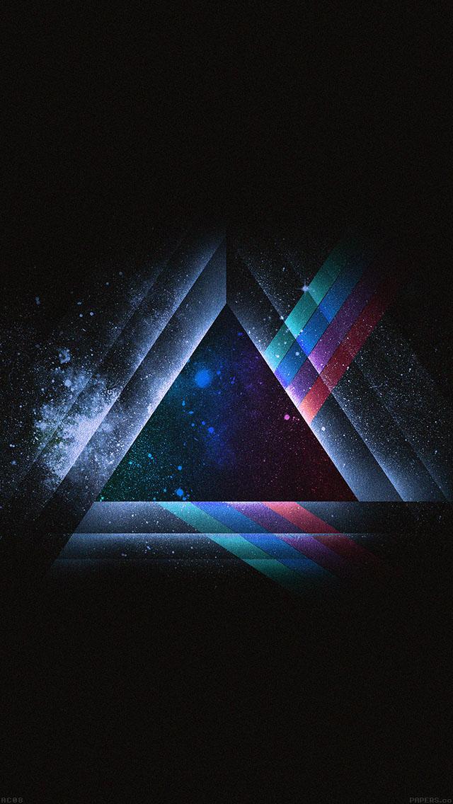 freeios8.com-iphone-4-5-6-ipad-ios8-ac08-wallpaper-triangle-art-blue-rainbow-illust-graphic