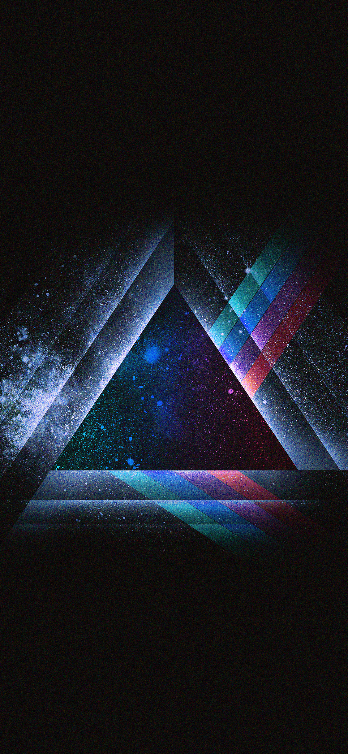 iPhoneXpapers.com-Apple-iPhone-wallpaper-ac08-wallpaper-triangle-art-blue-rainbow-illust-graphic