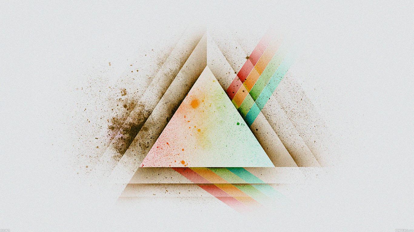wallpaper-desktop-laptop-mac-macbook-ac09-wallpaper-triangle-art-white-rainbow-illust-graphic-wallpaper