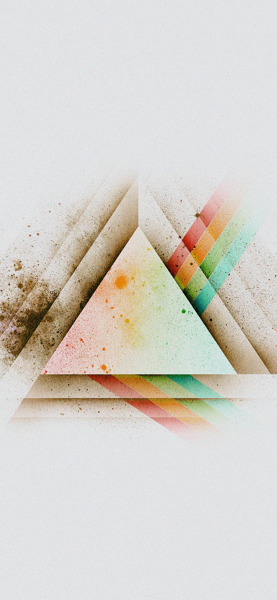 iPhoneXpapers.com-Apple-iPhone-wallpaper-ac09-wallpaper-triangle-art-white-rainbow-illust-graphic