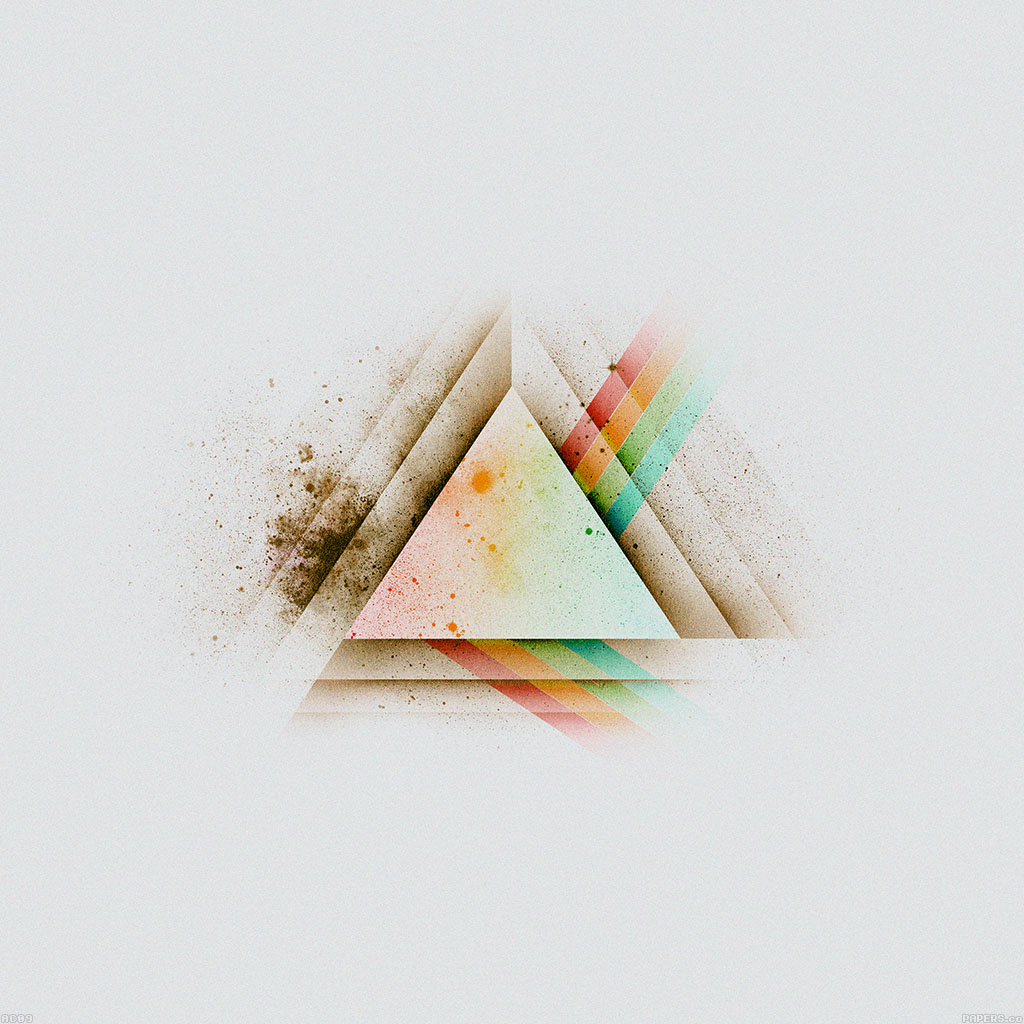 android-wallpaper-ac09-wallpaper-triangle-art-white-rainbow-illust-graphic-wallpaper