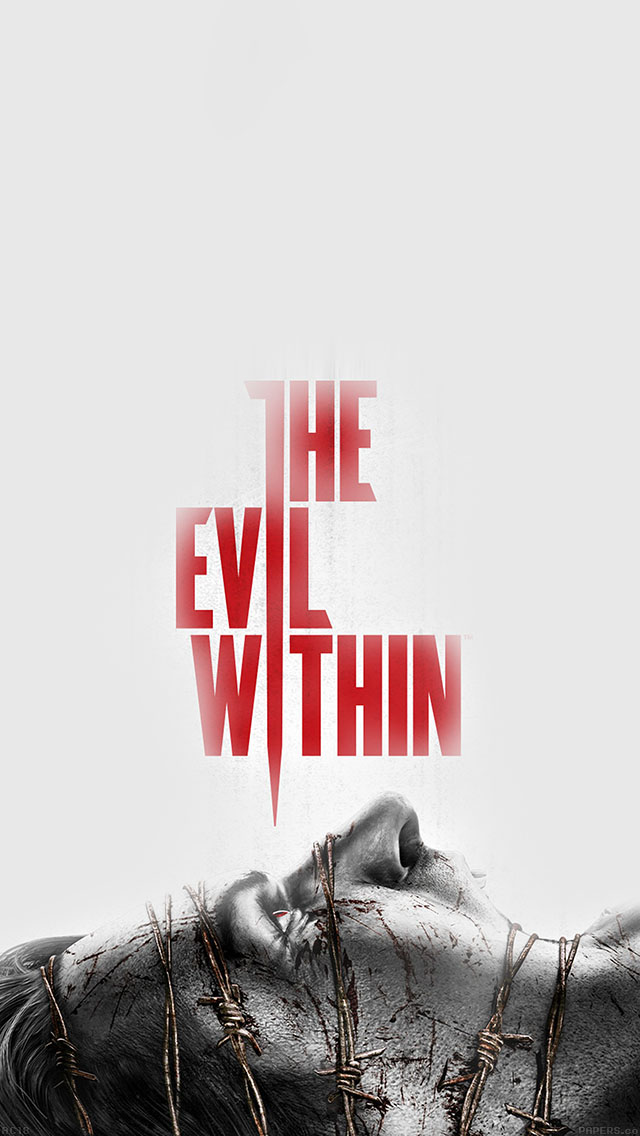 freeios8.com-iphone-4-5-6-ipad-ios8-ac18-wallpaper-devil-within-poster-game-art