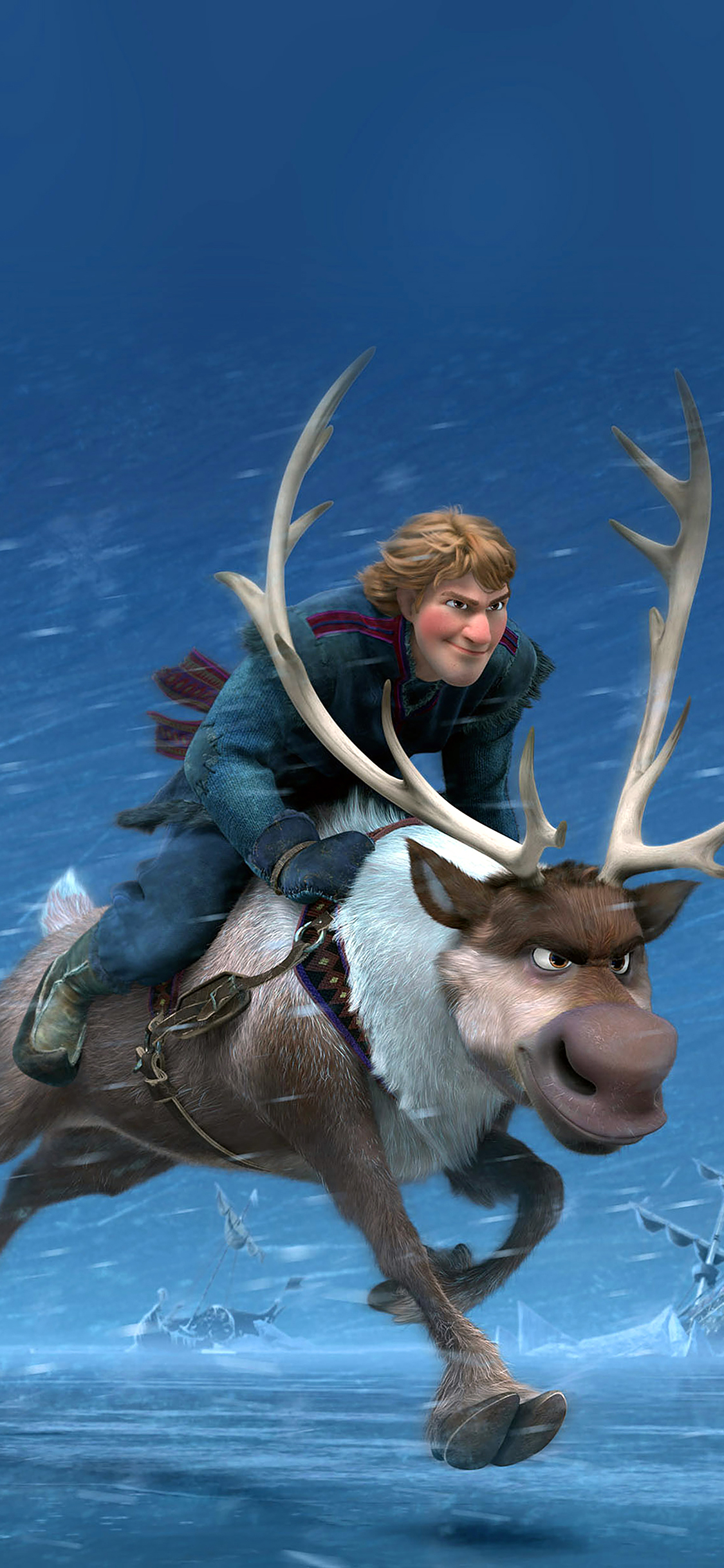 iPhoneXpapers.com-Apple-iPhone-wallpaper-ac21-wallpaper-frozen-running-kristoff-disney