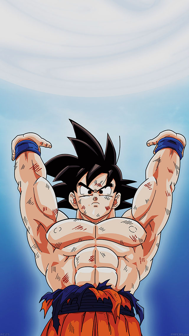 freeios8.com-iphone-4-5-6-ipad-ios8-ac25-wallpaper-goku-dragonball-energy-illust-anime