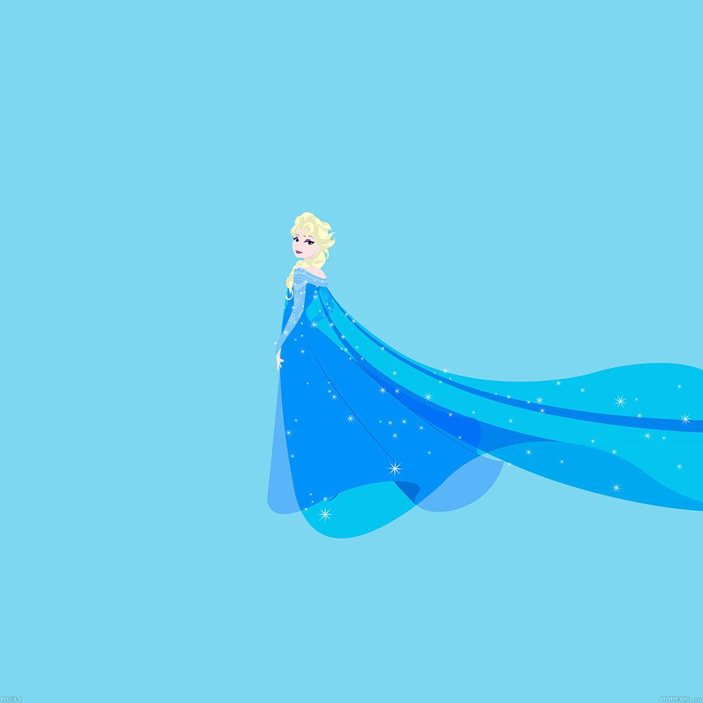 Freeios7 Ac34 Wallpaper Frozen Elsa Illust Fanart Disney