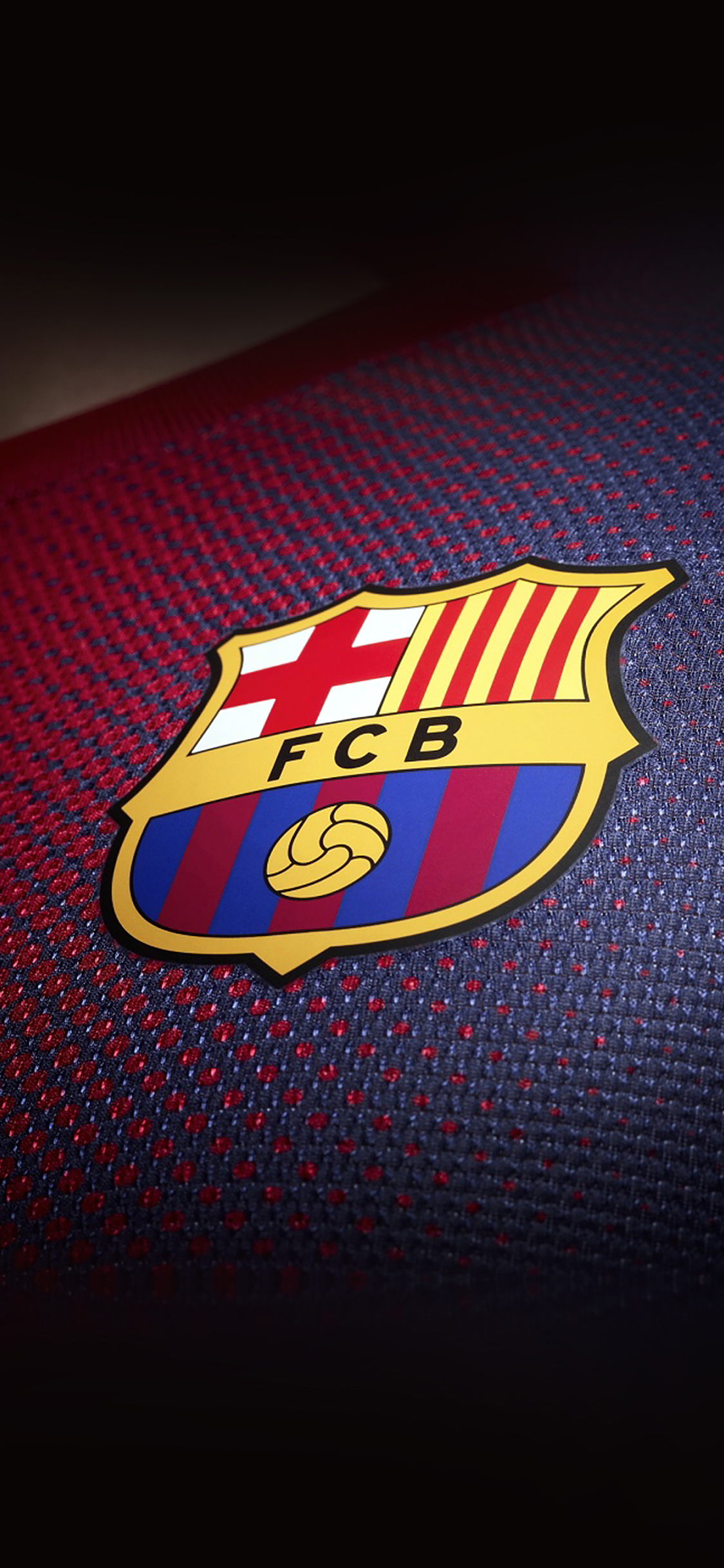 Iphonepapers Ac37 Wallpaper Barcelona Logo Emblem Sports