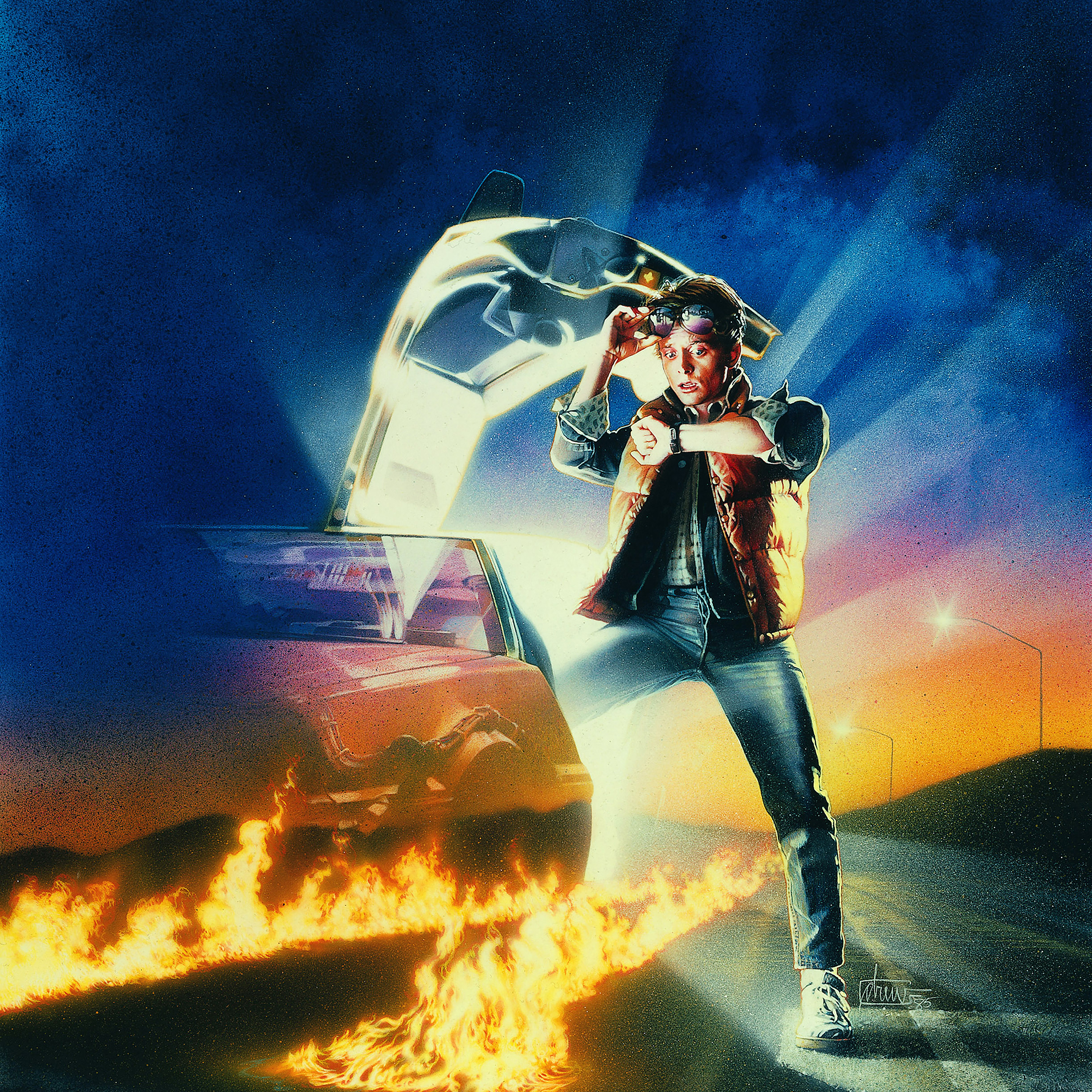 Ac43 Wallpaper Back To The Future Time Film Poster Papers Co