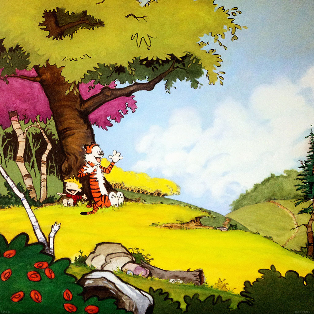 Papers Co Android Wallpaper Ac48 Wallpaper Calvin And Hobbes