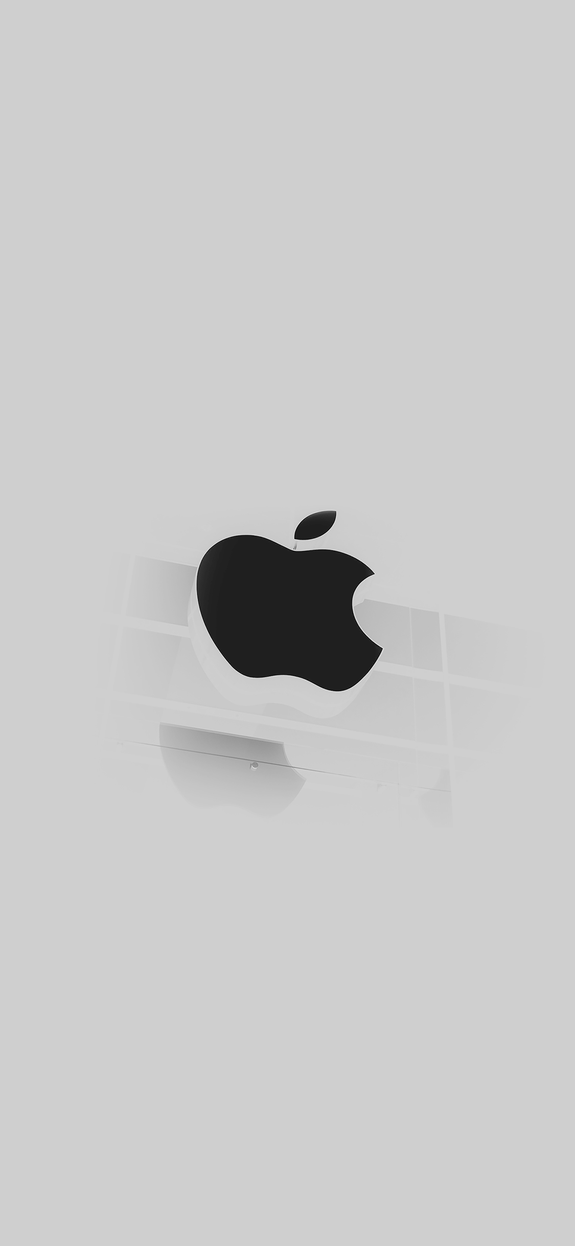 iphonepapers - ac55-wallpaper-apple-logo-glass-white-iphone6-ready