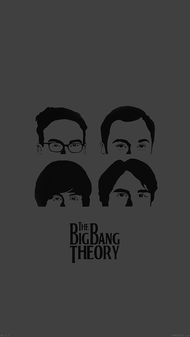Iphone6papers Ac57 Wallpaper Bigbang Theory Guys Film Dark