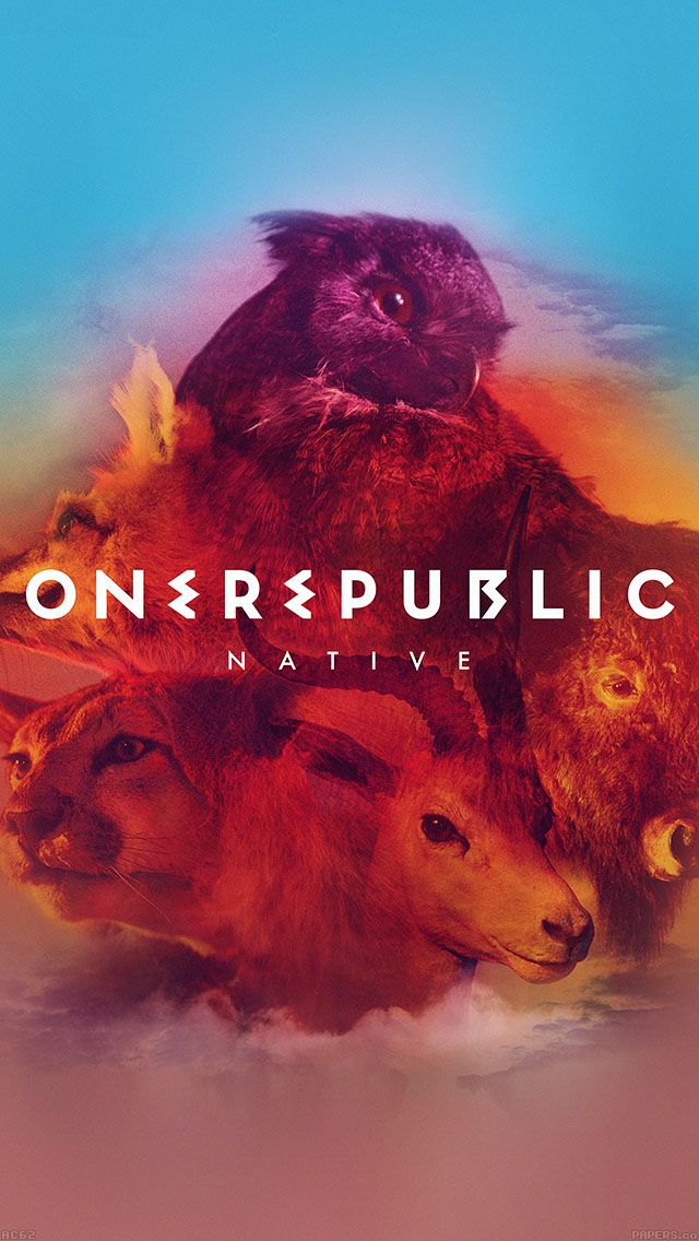 freeios8.com-iphone-4-5-6-ipad-ios8-ac62-wallpaper-one-republic-band-cover-art