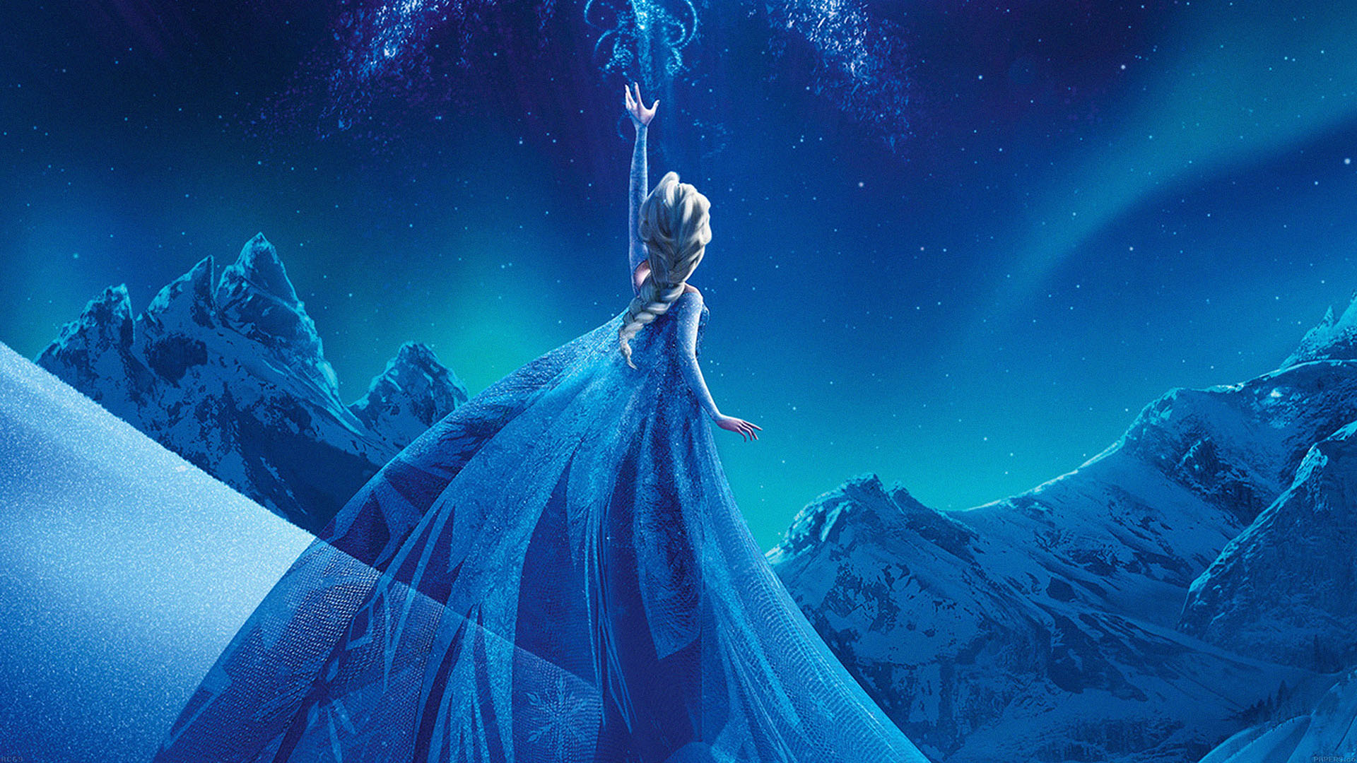 ac69-wallpaper-elsa-frozen-queen-disney-illust-snow-art