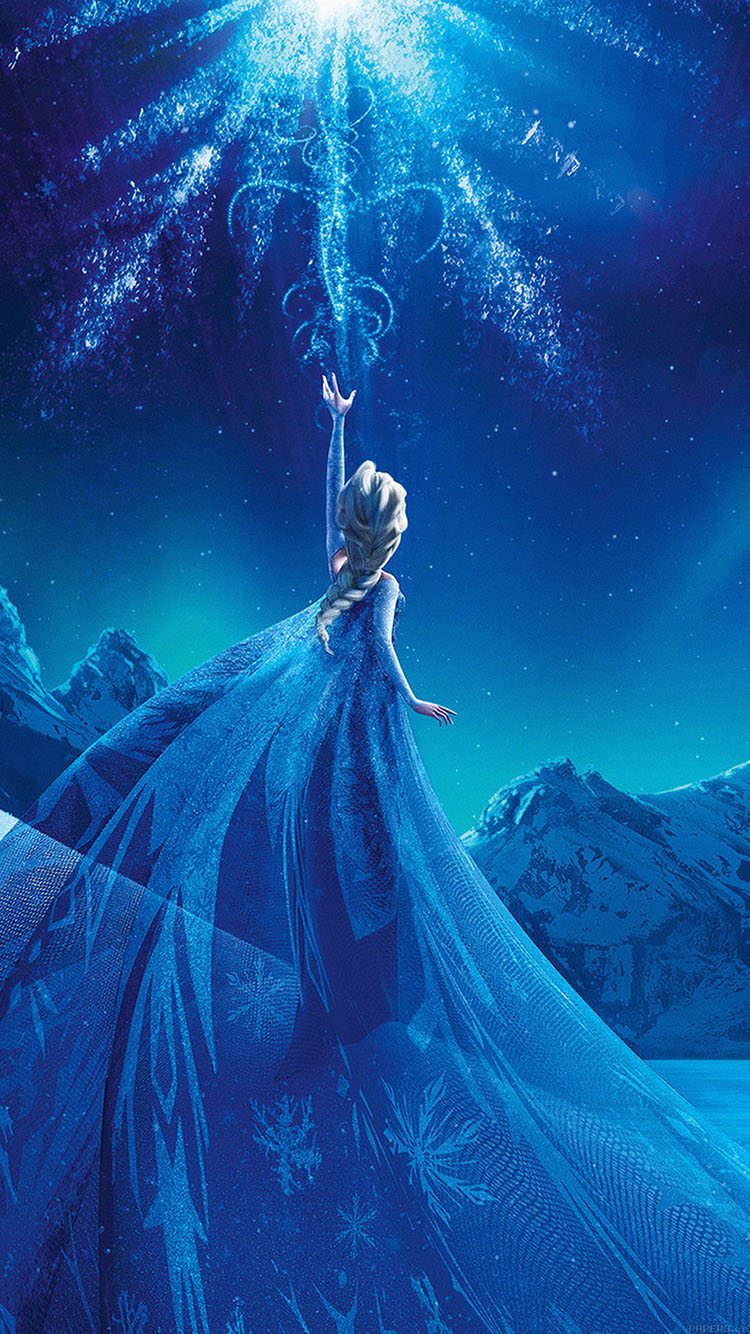 iPhonepapers.com-Apple-iPhone8-wallpaper-ac69-wallpaper-elsa-frozen-queen-disney-illust-snow-art