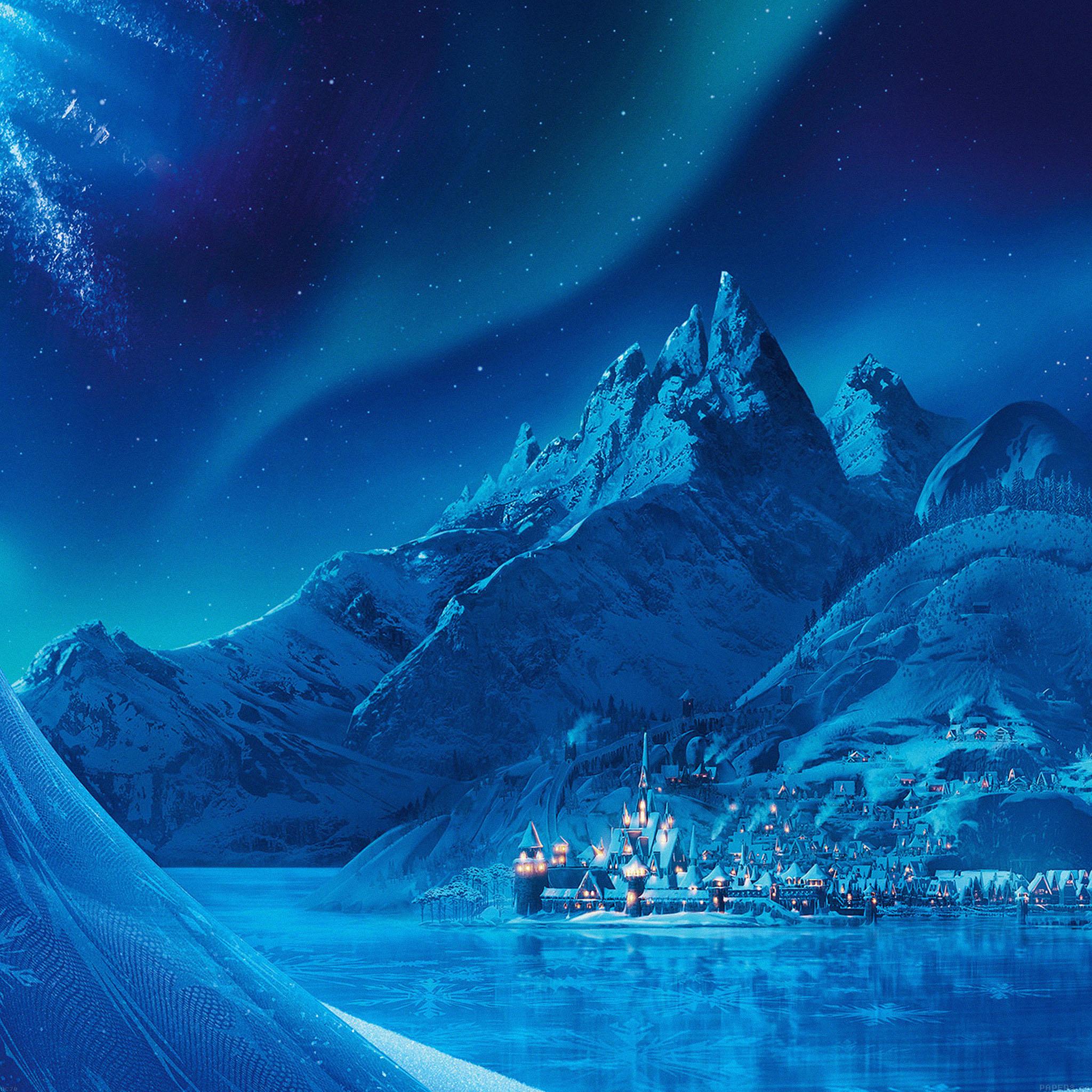 ac70-wallpaper-elsa-frozen-castle-queen-disney-illust-snow ...