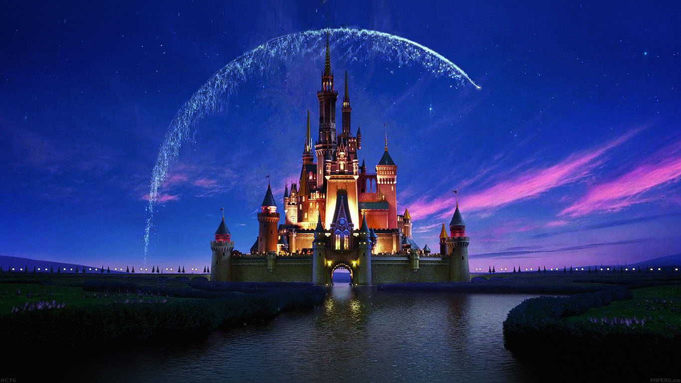 Wallpaper For Desktop Laptop Ac76 Wallpaper Disney Castle Artwork