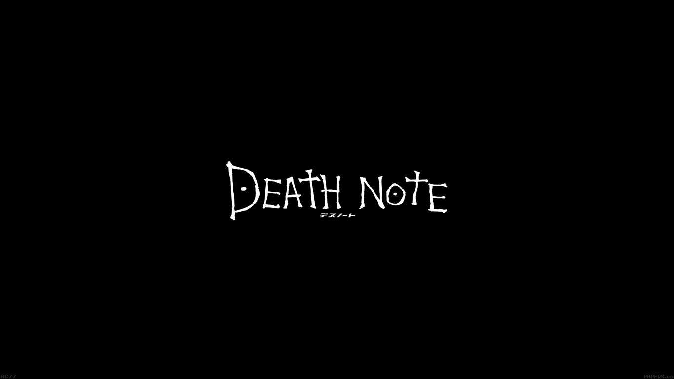 Wallpaper For Desktop Laptop Ac77 Wallpaper Death Note