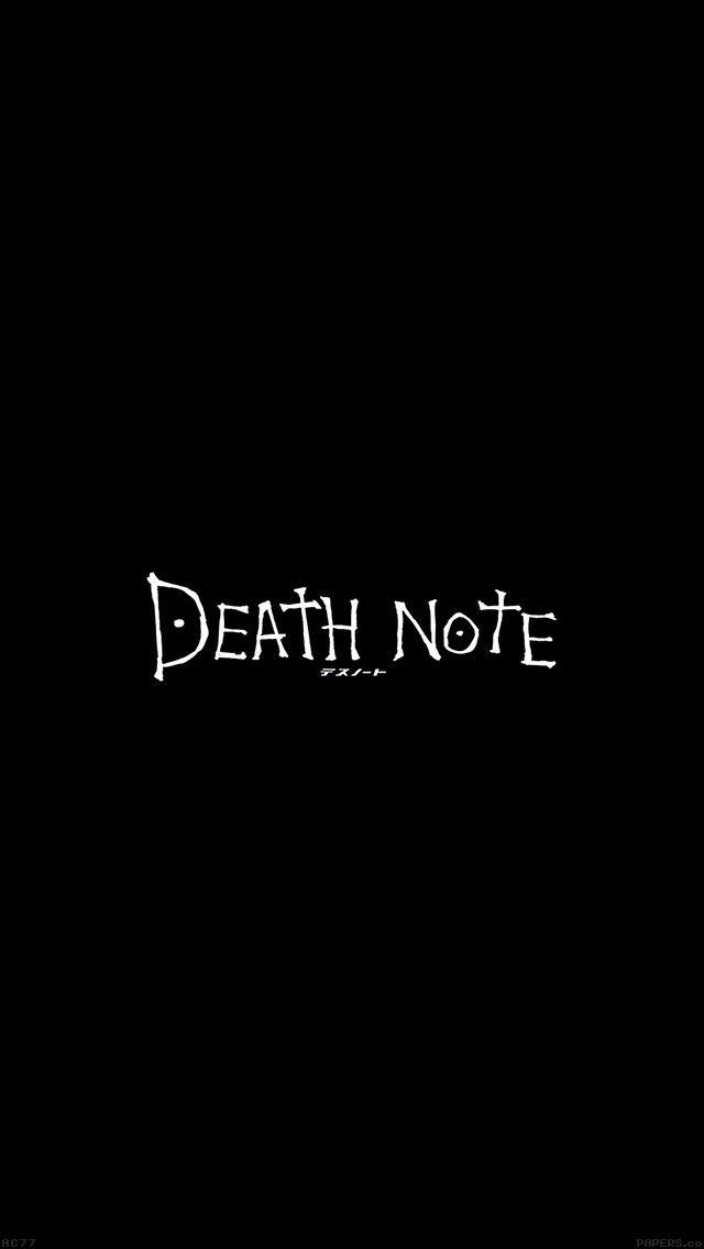 freeios8.com-iphone-4-5-6-ipad-ios8-ac77-wallpaper-death-note-cartoon-illust-minimal