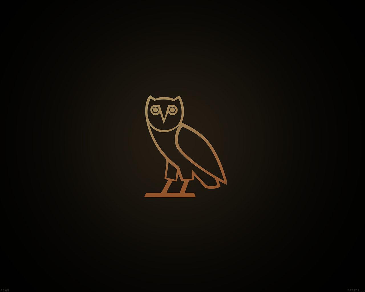 ac82-wallpaper-ovo-owl-logo-dark-minimal - Papers.co