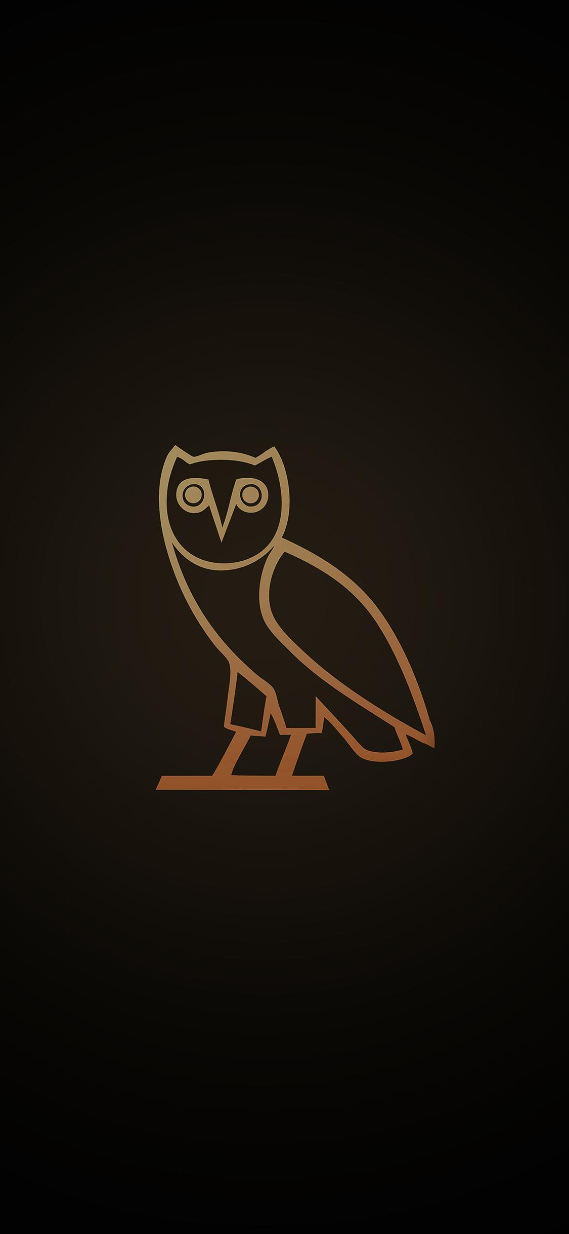 iPhoneXpapers.com-Apple-iPhone-wallpaper-ac82-wallpaper-ovo-owl-logo-dark-minimal