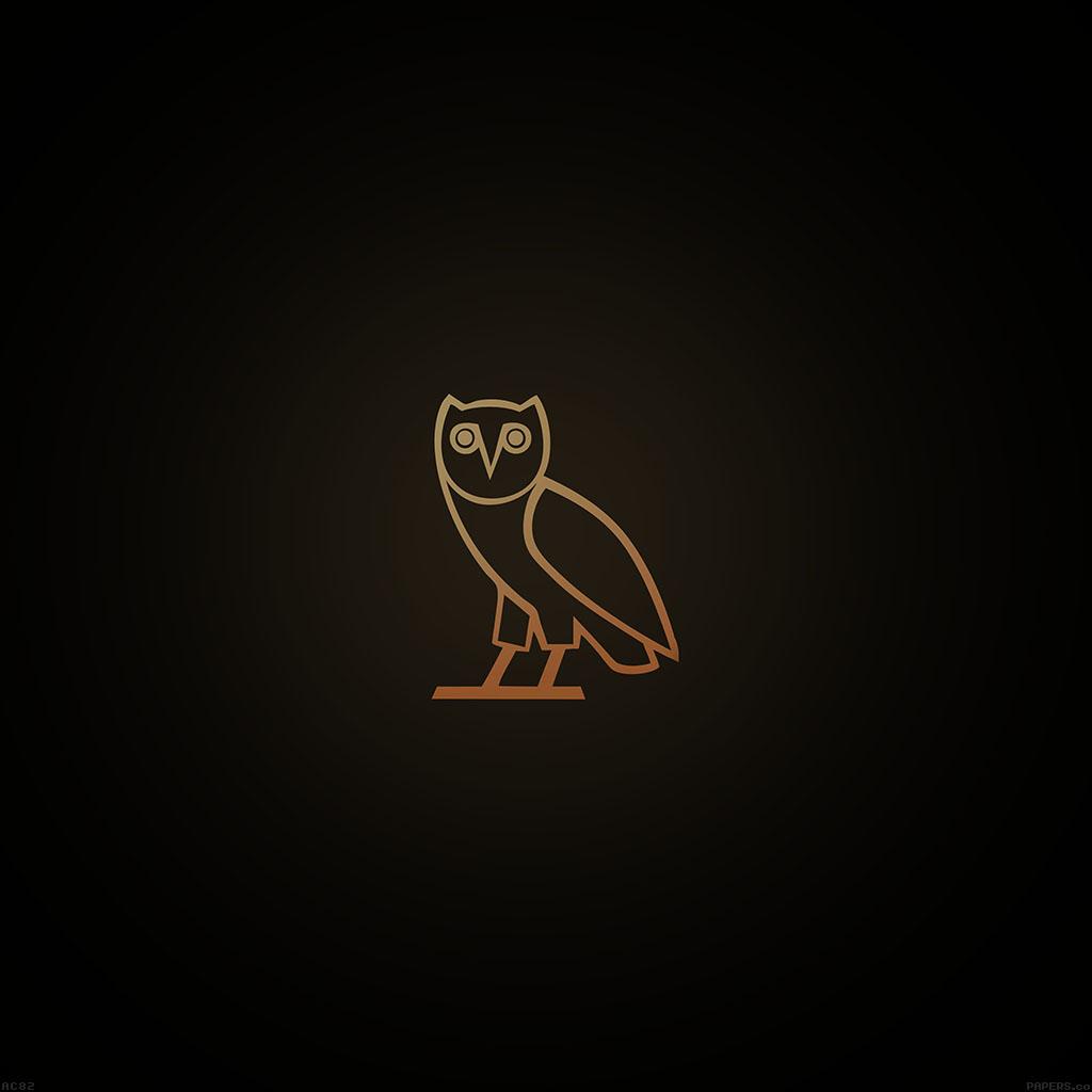 android-wallpaper-ac82-wallpaper-ovo-owl-logo-dark-minimal-wallpaper