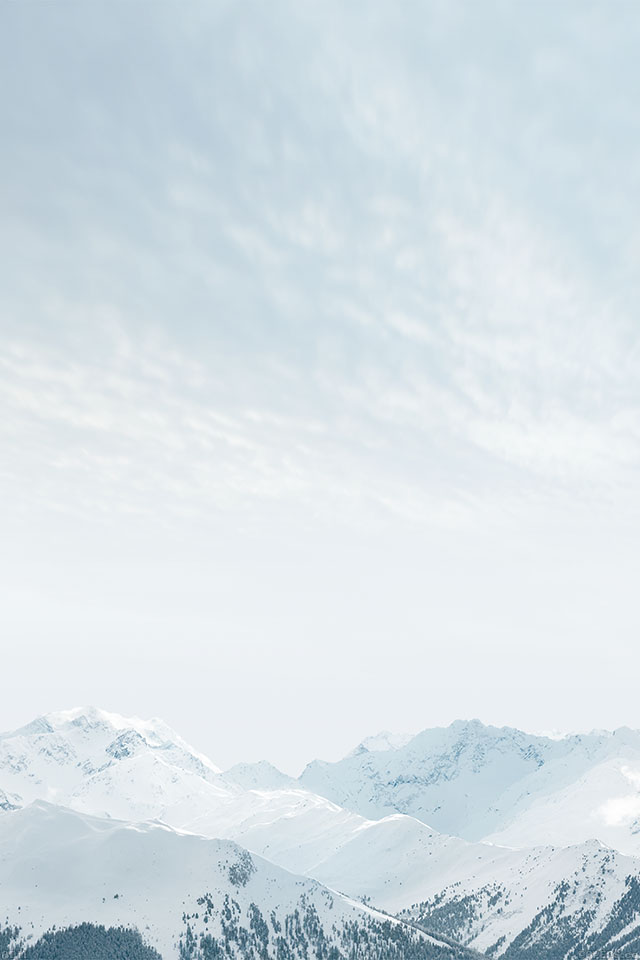 Freeios7 Ad11 Wallpaper Snow Mountain Ios8 Iphone6 Plus