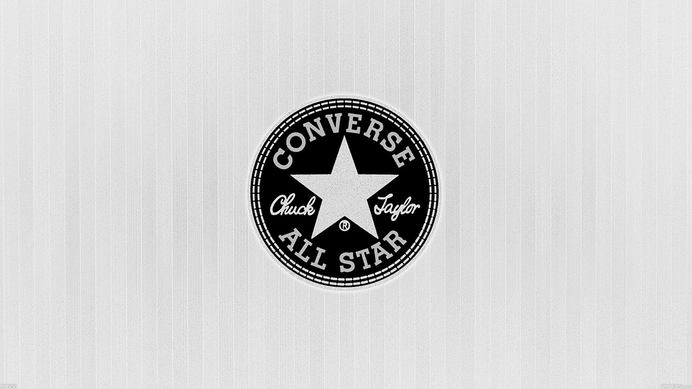 iPapers.co-Apple-iPhone-iPad-Macbook-iMac-wallpaper-ad22-converse-allstar-logo-white