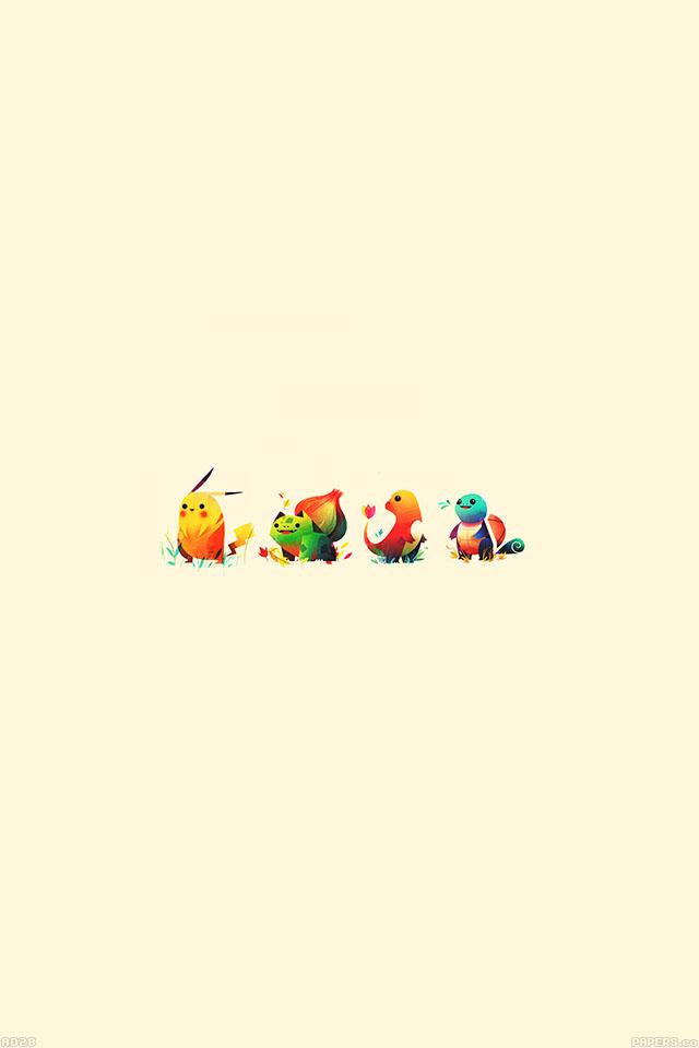 freeios7.com-iphone-4-iphone-5-ios7-wallpaperad28-cute-pokemon-illust-iphone4