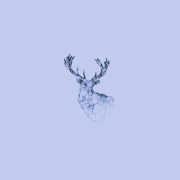 iPapers.co-Apple-iPhone-iPad-Macbook-iMac-wallpaper-ad30-deer-animal-illust-blue