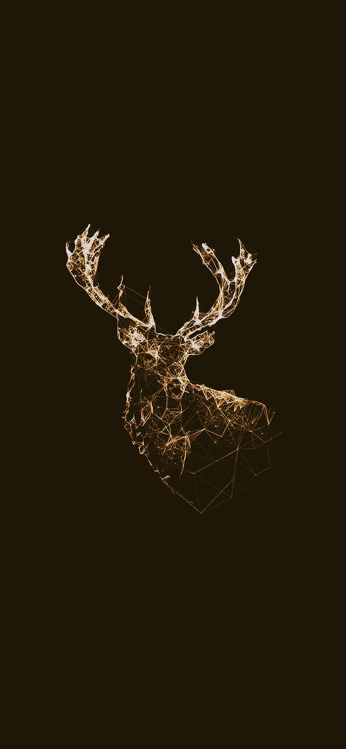 iPhoneXpapers.com-Apple-iPhone-wallpaper-ad31-deer-animal-illust-choco