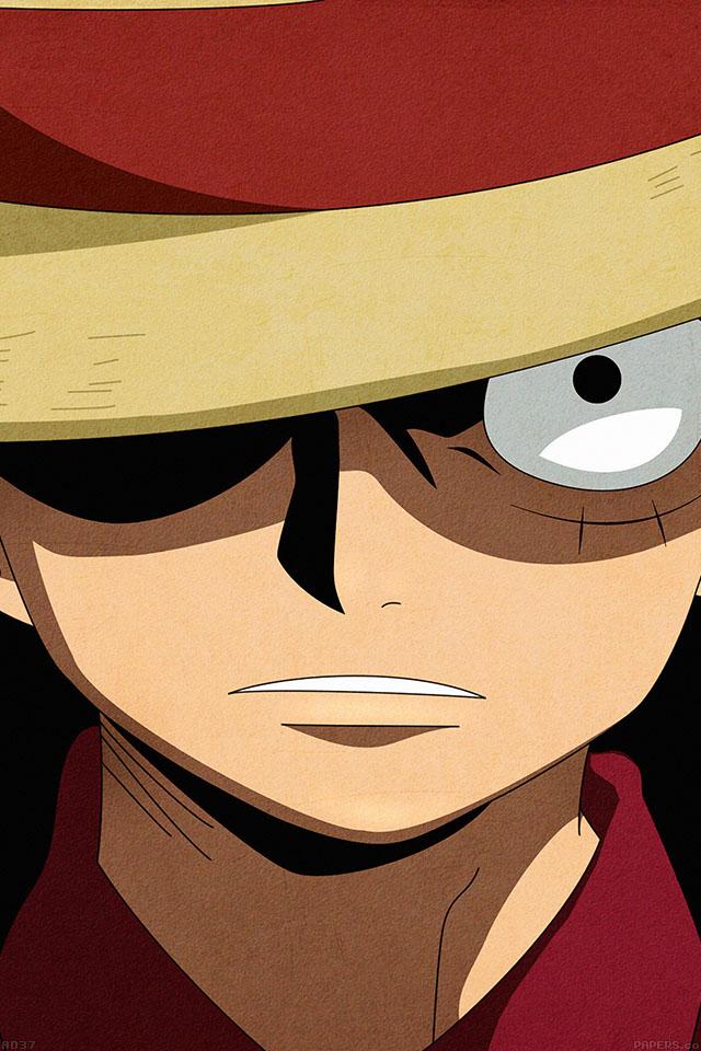 Freeios7 Ad37 One Piece Anime Parallax Hd Iphone Ipad Wallpaper