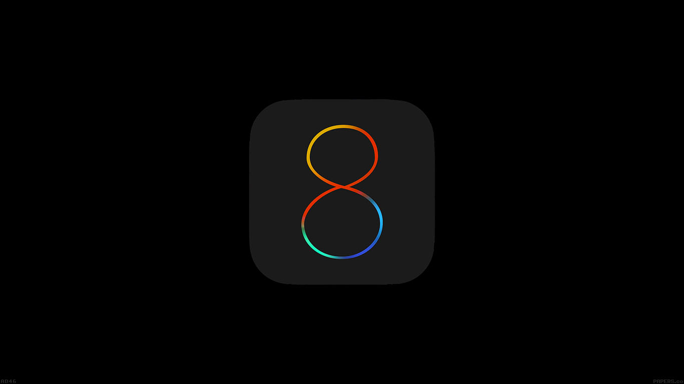 iPapers.co-Apple-iPhone-iPad-Macbook-iMac-wallpaper-ad46-apple-ios8-dark-logo