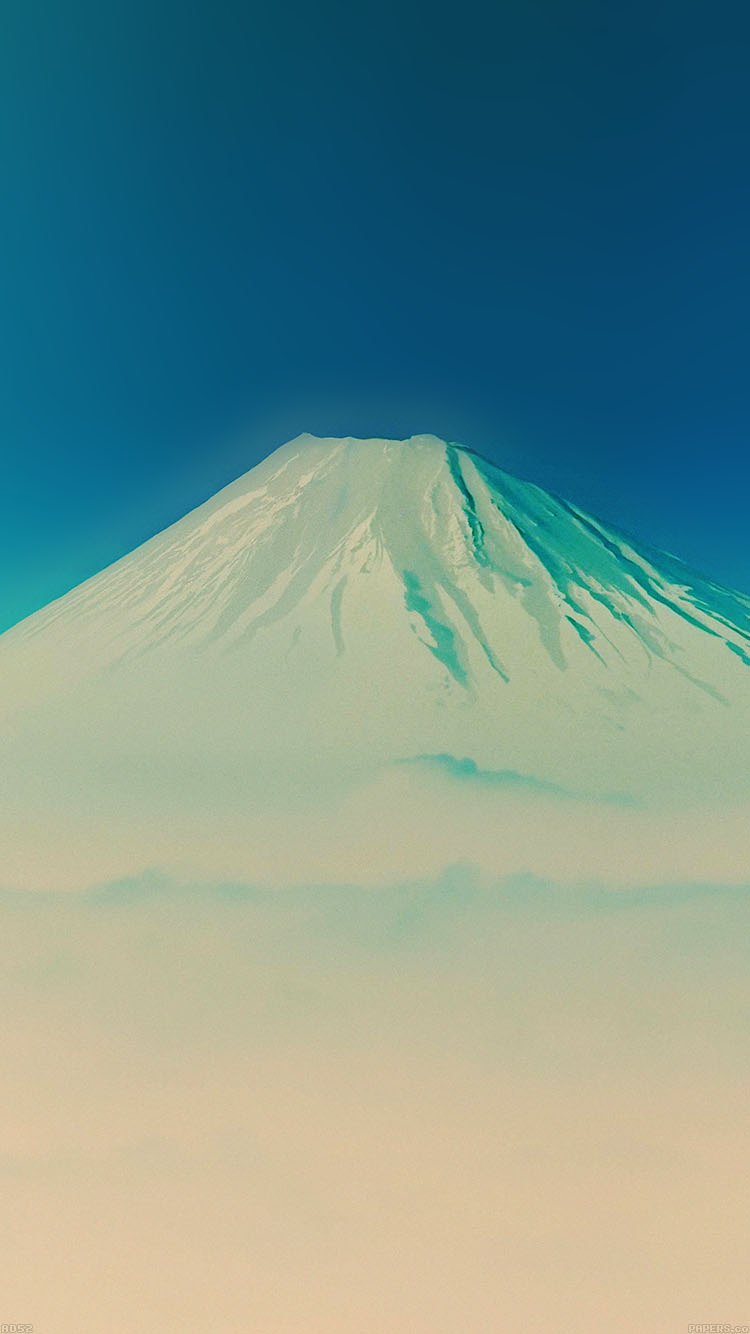 iPhonepapers.com-Apple-iPhone8-wallpaper-ad52-fuji-blue-mountain-alone