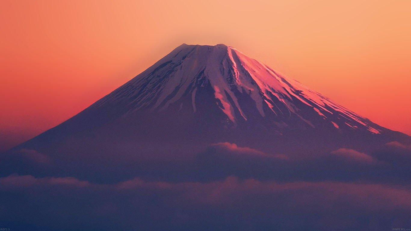 iPapers.co-Apple-iPhone-iPad-Macbook-iMac-wallpaper-ad53-fuji-red-mountain-alone