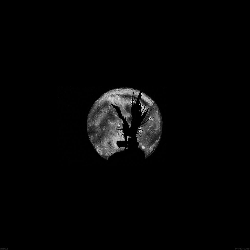Ad62-death-note-moon-illust - Parallax HD