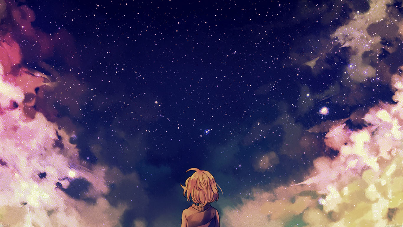 iPapers.co-Apple-iPhone-iPad-Macbook-iMac-wallpaper-ad65-starry-space-illust-anime-girl