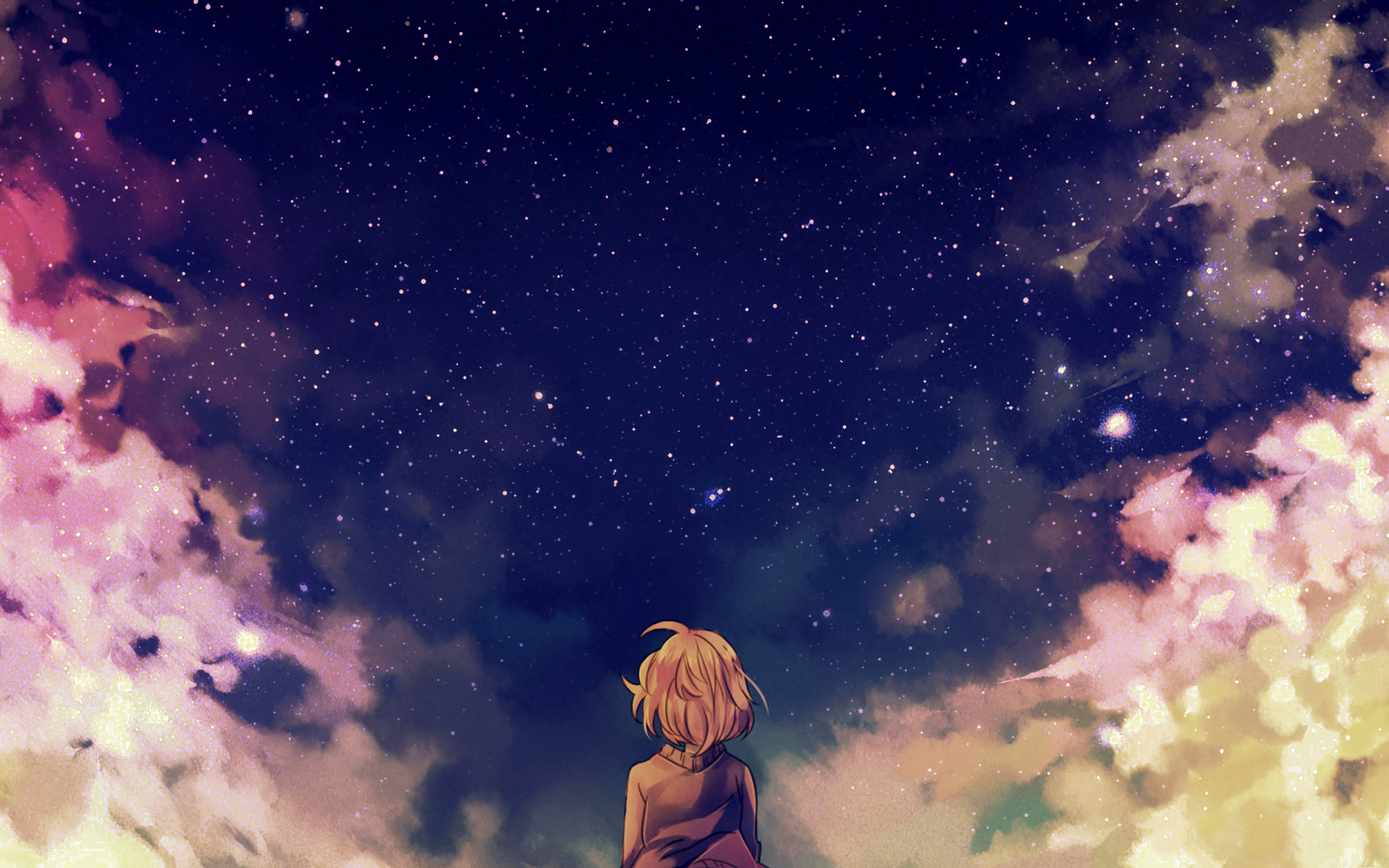 ad65-starry-space-illust-anime-girl-wallpaper