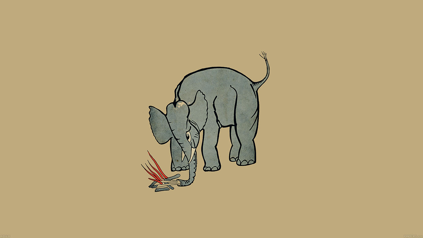 iPapers.co-Apple-iPhone-iPad-Macbook-iMac-wallpaper-ad68-elephant-fire-illust