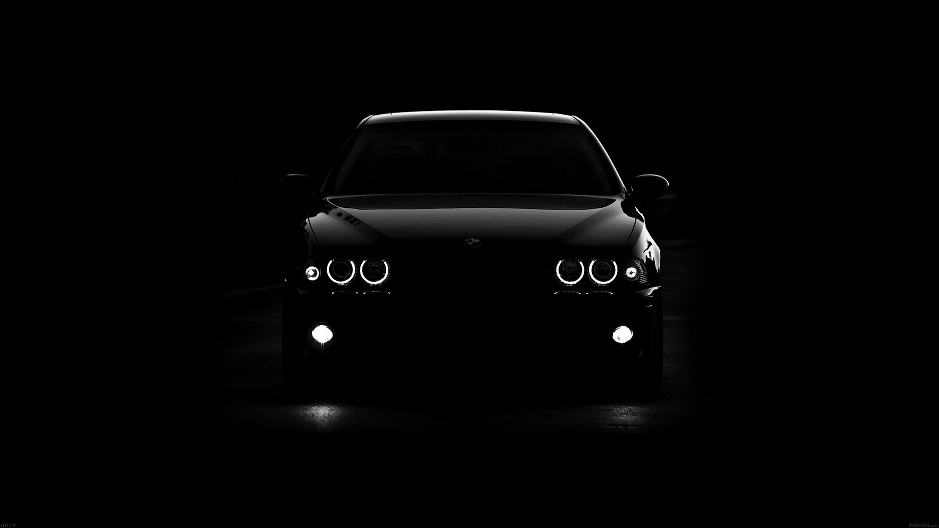 Ad74 bmw car black light - Car wallpaper black and white ...