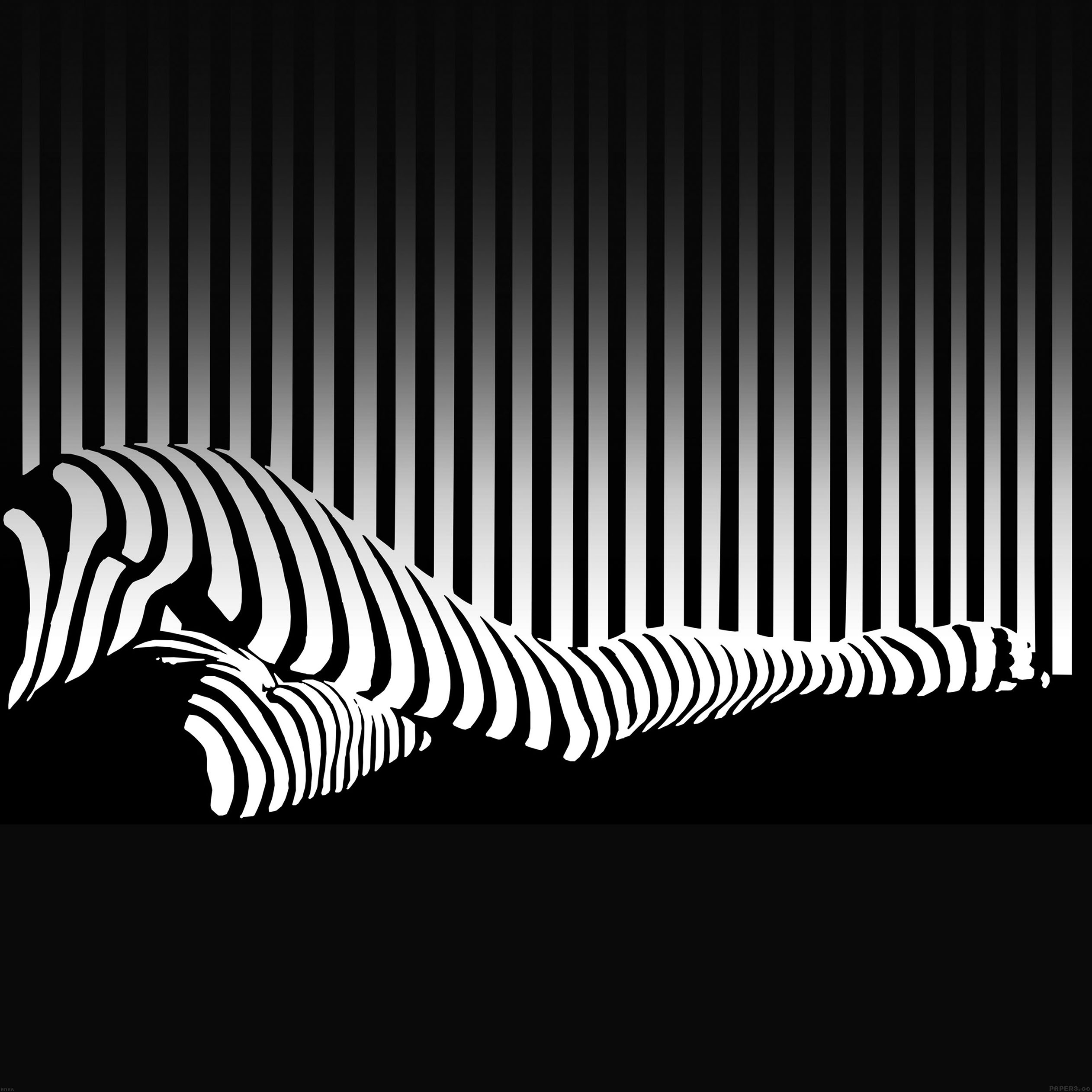 Freeios7 ad86 stripe leg illust minimal art parallax for Minimal art kunstwerke