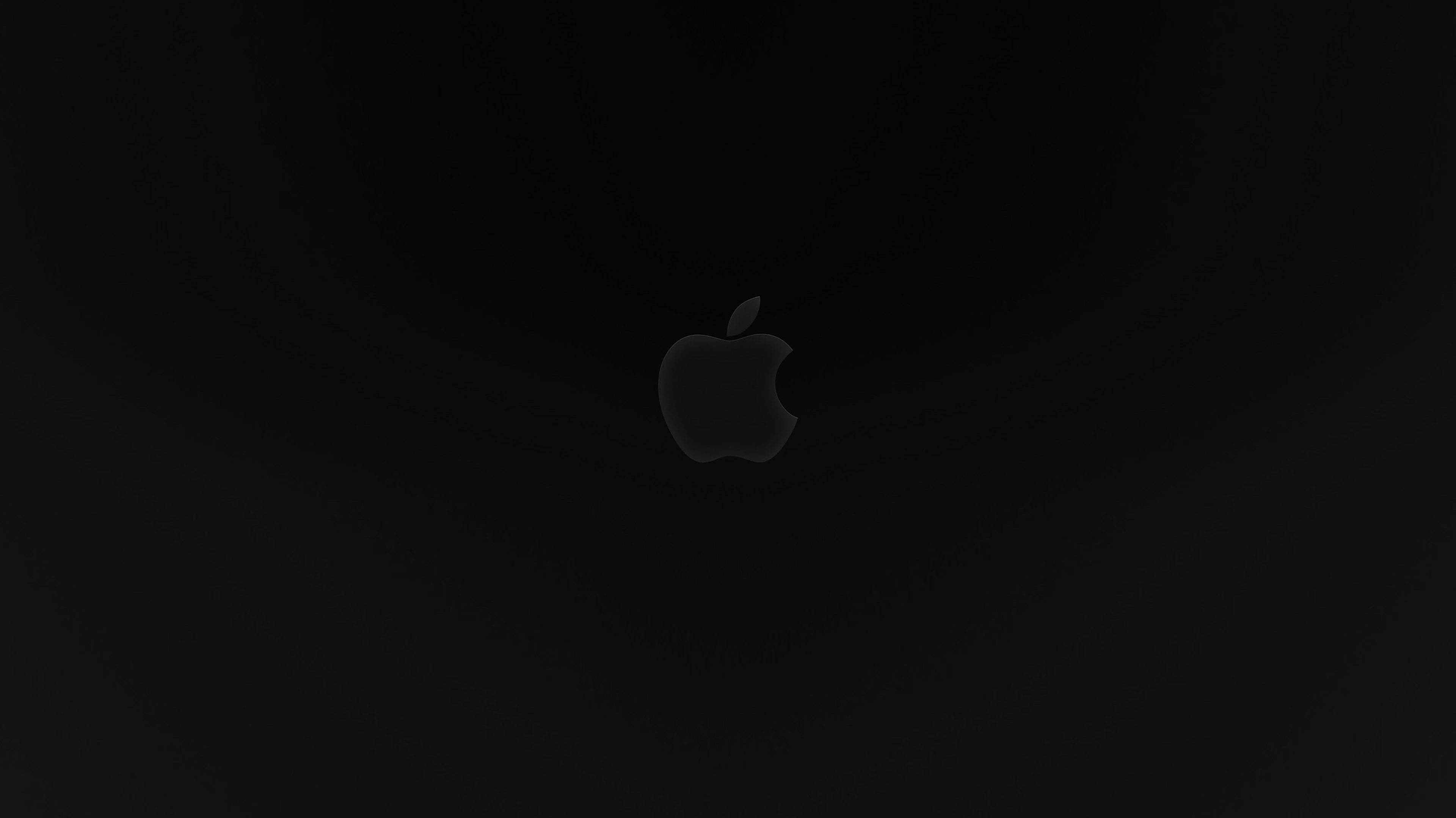 Ac96 Wallpaper Apple Iphone6 Plus Ios8 Flower Green: Ad89-apple-logo-dark-ios8-iphone6