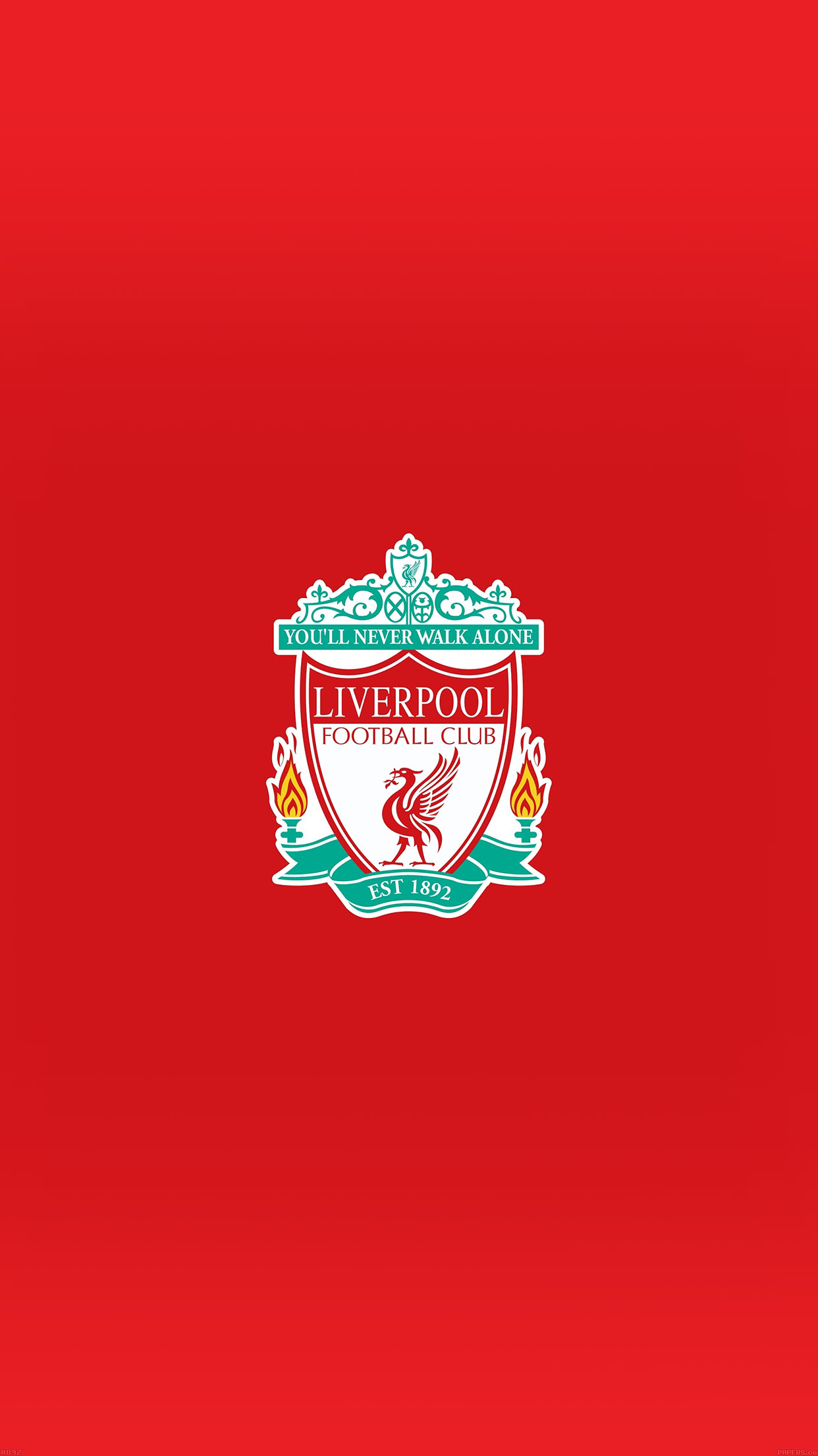 Ad92 Liverpool Logo Never Walk Alone Papers Co