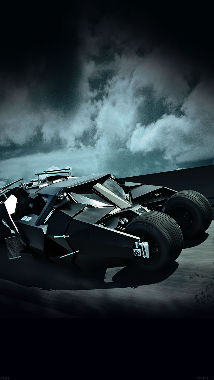 Papers.co-iPhone5-iphone6-plus-wallpaper-ad99-batcar-batman-highway-art-hero
